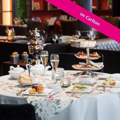 English Afternoon Tea im Carlton